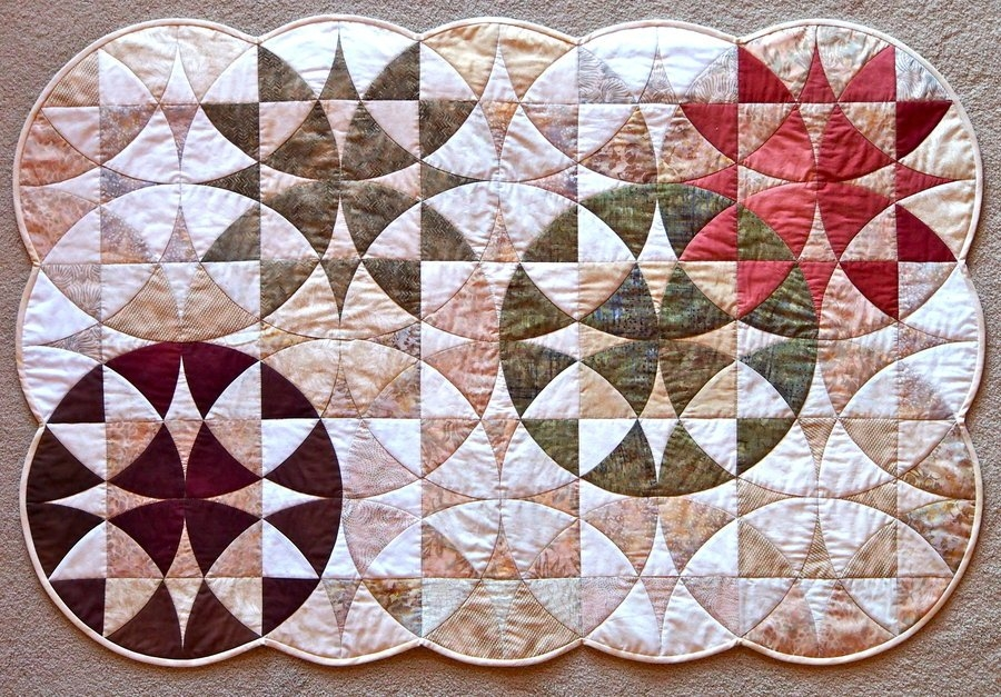 winding ways wall quilt thequiltshow Unique Quilt Pattern Winding Ways Gallery