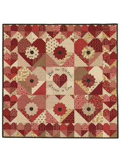 with all my heart wall hanging pattern Seasonal Quilted Wall Hanging Patterns