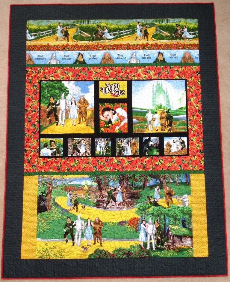 wizard of oz quilts weve made do it yourself long arm Unique Wizard Of Oz Quilt Pattern Inspirations