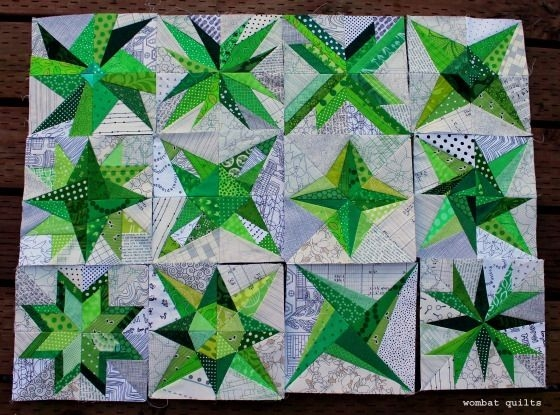 wombat quilts paper pieced stars free pattern download Unique Free Wombat Quilt Block Patterns Inspirations
