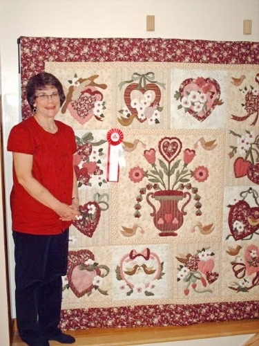 wonderfull vintage valentine quilt pattern inspirations Elegant Vintage Valentine Quilt Pattern Verna Mosquera Inspirations