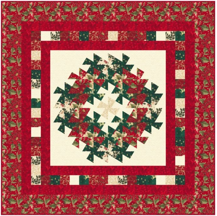 wreath and garland wall quilt pattern Modern Lil Twister Quilt Patterns Inspirations