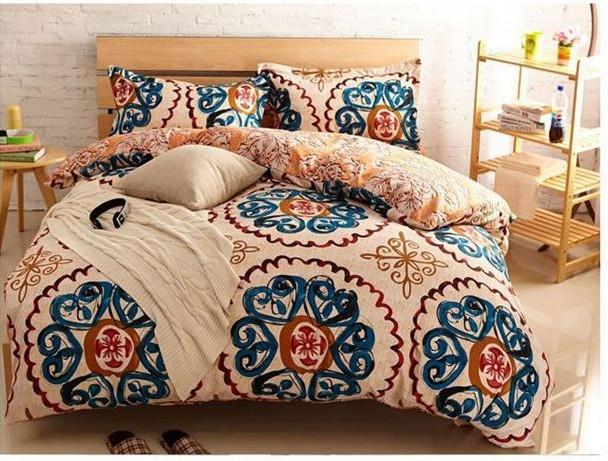 yellow blue vintage bedding comforter sets king queen size Interesting Vintage Quilt Sets Inspirations