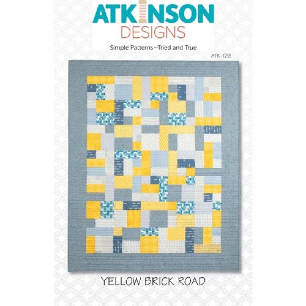 yellow brick road quilt pattern Modern Quilt Pattern Yellow Brick Road
