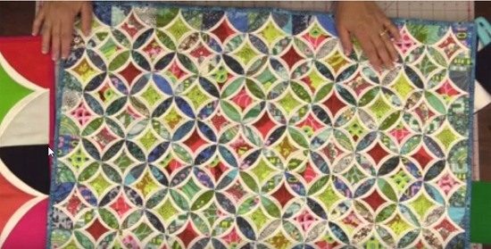 youll love this easy method for cathedral windows Cozy Cathedral Quilt Patterns Gallery