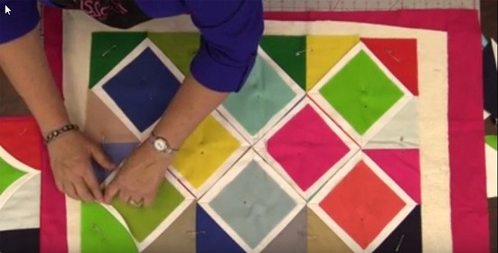 youll love this easy method for cathedral windows Cozy Easy Cathedral Window Quilt Pattern