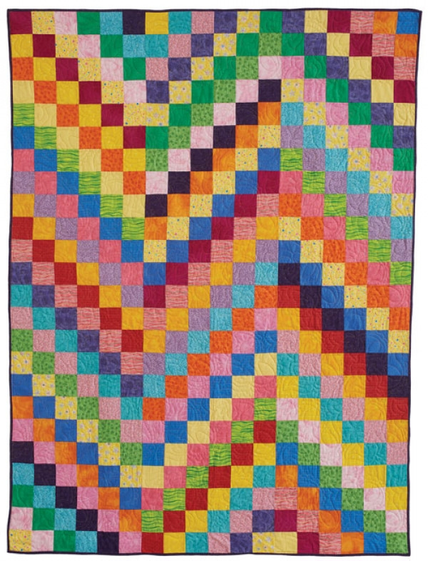 zigzag squares quilt pattern download Stylish Quilt Patterns With Squares