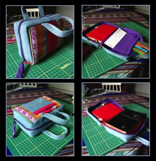 zippered bible cover sewing tutorial pkayfit sewing Modern Quilted Bible Cover Pattern
