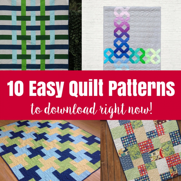 10 easy quilt patterns the crafty mummy Patterns For Quilts Beginners Gallery