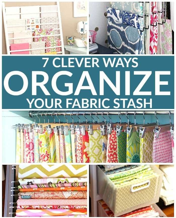 7 clever ways to organize your fabric stash Modern The Fabric Stash Quilting Sewing Store