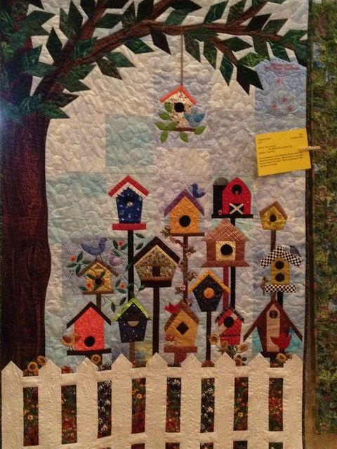 birdhouse quilt house quilt patterns house quilts house Elegant Birdhouse Quilt Patterns Gallery