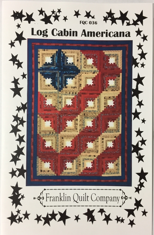 franklin quilt company log cabin americana Americana Quilt Patterns Gallery