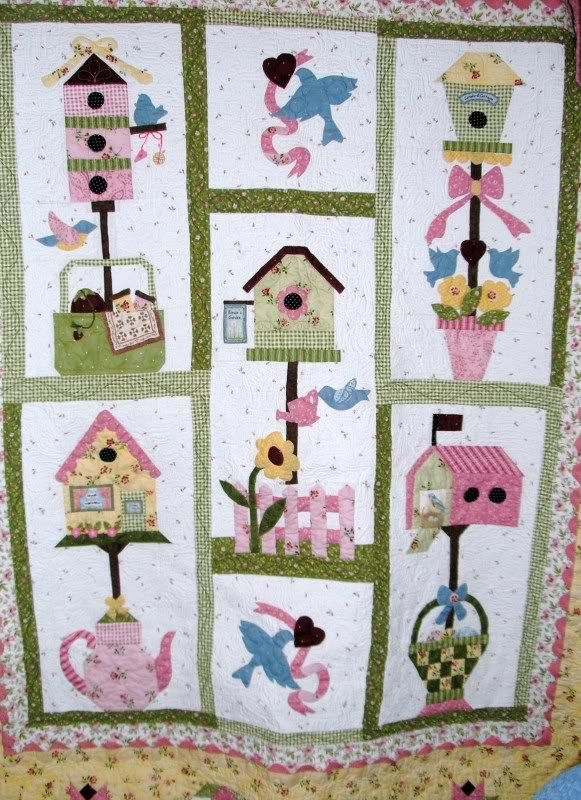 Elegant Birdhouse Quilt Patterns Gallery