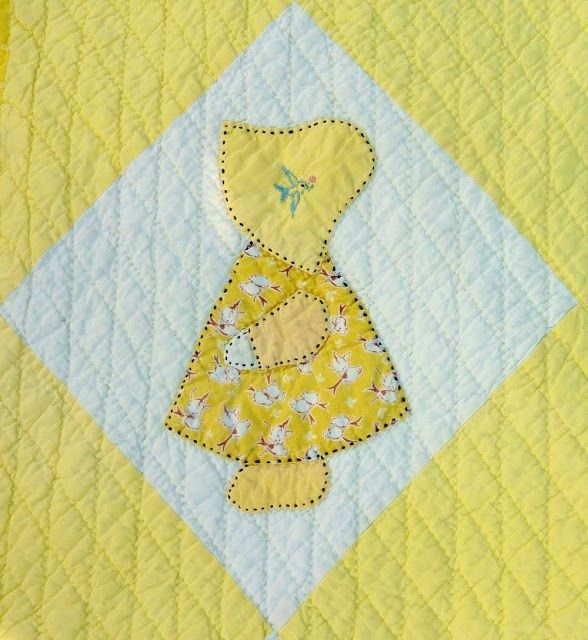 free sunbonnet sue quilt pattern are much older than Unique Sunbonnet Sue Quilt Block Pattern