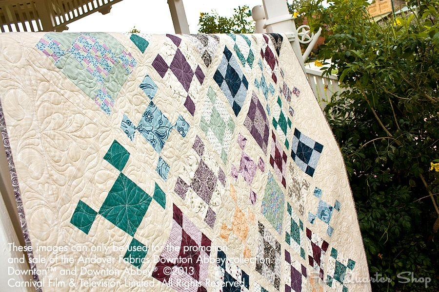 ladies of downton abbey quilt kit now available at fat Cool Downton Abbey Quilt Kit Inspirations