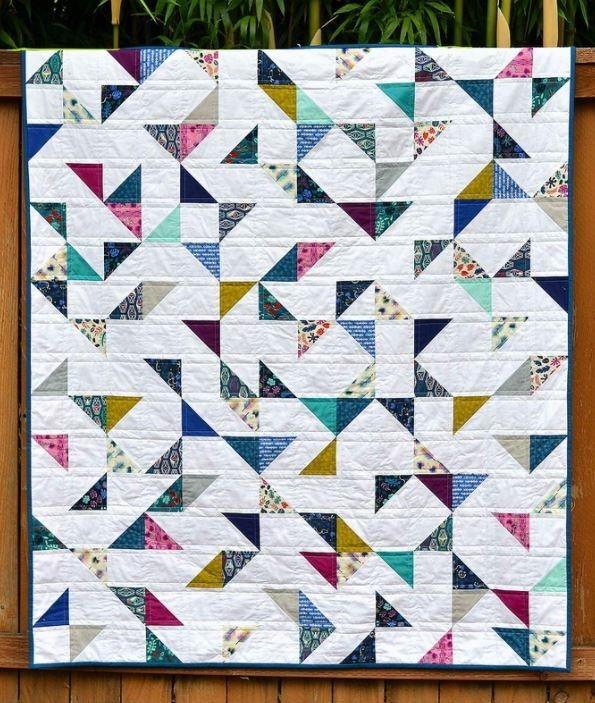 lagoon hst lap quilt quilt block patterns charm square Interesting Charm Squares Quilt Patterns