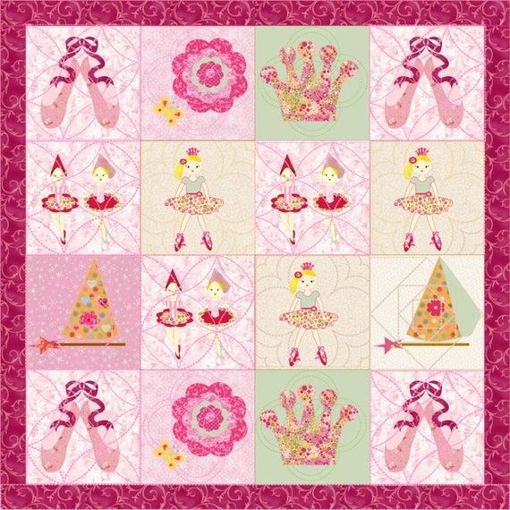little girls quilt pattern ballerina quilt patternkindergarden quilts Elegant Quilt Patterns For Little Girls Inspirations