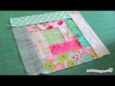 log cabin quilt block tutorial Modern Log Cabin Quilt Block Pattern Inspirations