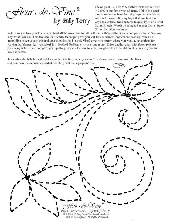machine quilting pattern pack download free motion leaf designs for beginners printable 36 patterns machine and hand quilting patterns Cozy Free Pdf Quilt Meander Design Download Inspirations