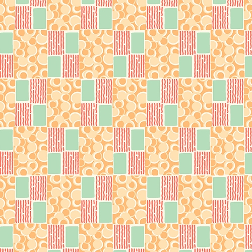 orange pattern print lady edith downton abbey collection Cool Downton Abbey Quilt Kit Inspirations