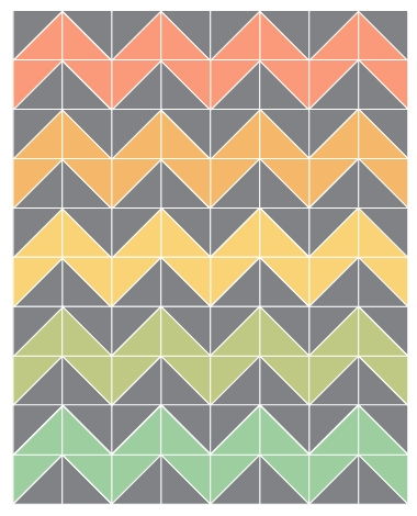 plans for chevron quilt chevron ba quilts chevron quilt Interesting Chevron Quilt Pattern Using Triangles Gallery