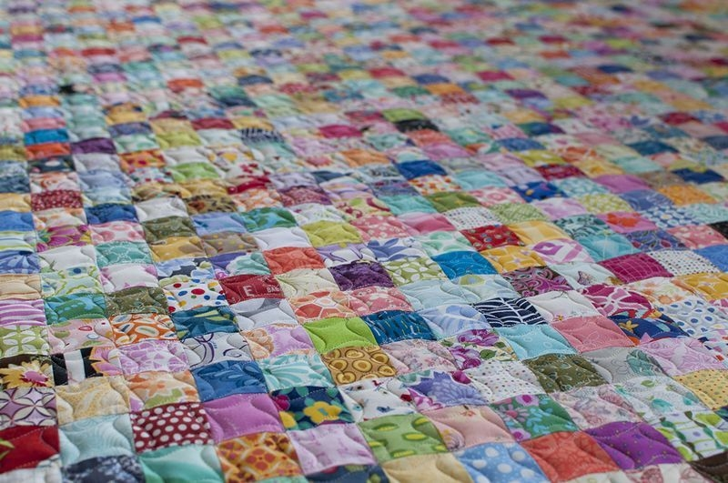 Stylish Postage Stamp Quilt Pattern Inspirations