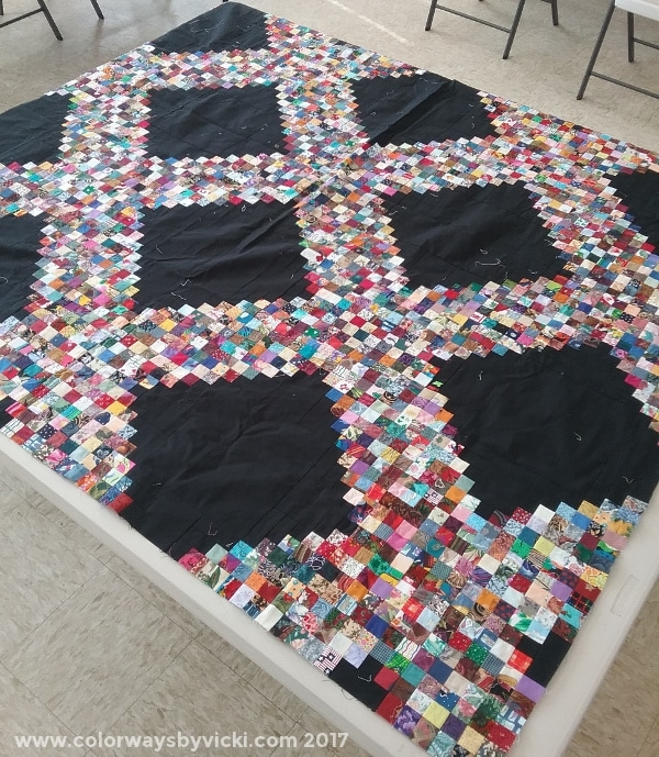 postage stamp quilt update colorways vicki welsh Stylish Postage Stamp Quilt Pattern Inspirations