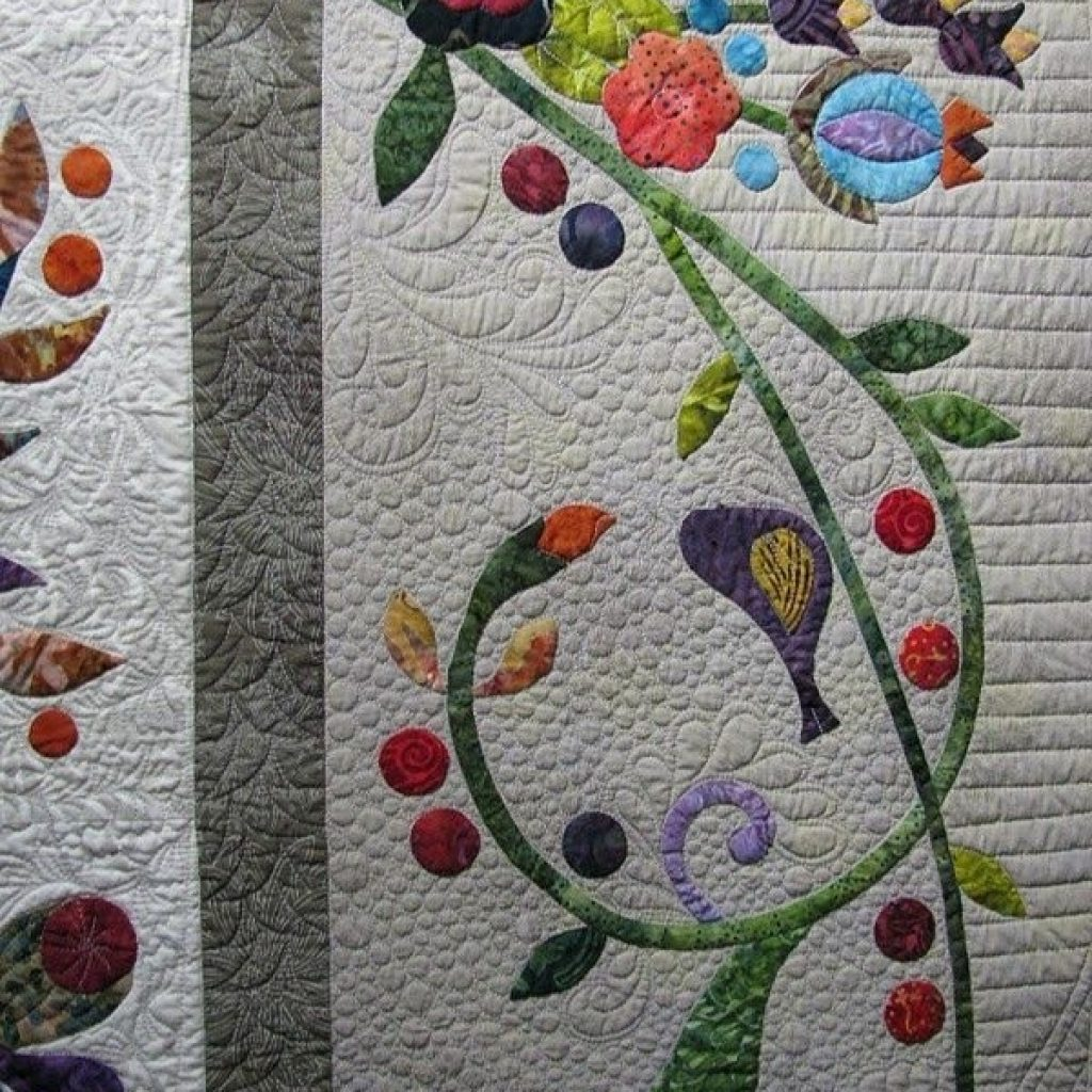 quiltappliquevines great applique border pattern is Stylish Applique Patterns For Quilting