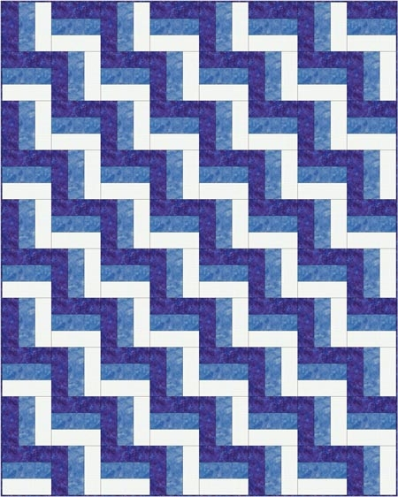 rail fence quilt pattern designs easy beginner quilt pattern Rail Fence Quilt Patterns Gallery