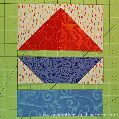 sailboat quilt block pattern in 4 sizes 4 6 8 12 Modern Sailboat Quilt Block Pattern