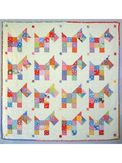 scotties vintage quilt pattern Modern Vintage Quilt Patterns