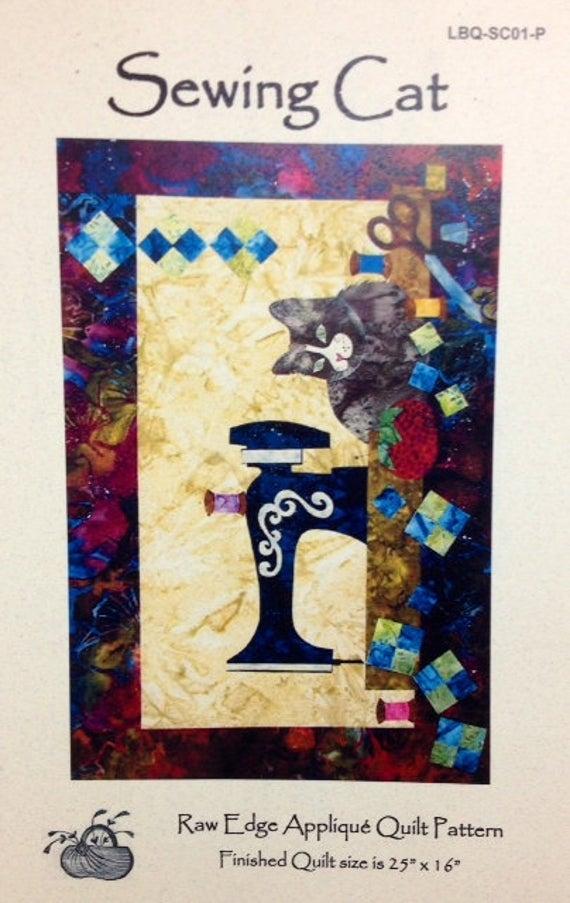 sewing cat art quilt pattern edyta sitarlaundry basket quilts 25 x 16 Elegant Edyta Sitar Quilt Patterns Inspirations