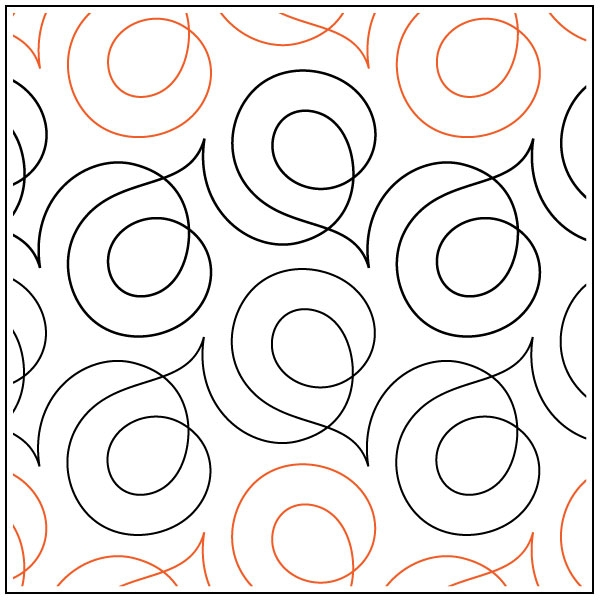 soho quilting pantograph pattern sarah ann myers Cozy Pantograph Quilt Patterns
