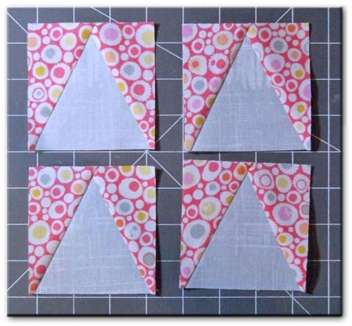 star chain quilt block free quilt block patterns library Elegant Triangle In A Square Quilt Block