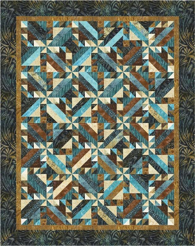 timeless treasures spring quilt market sneak peek Elegant Intertwined Quilt Pattern Gallery