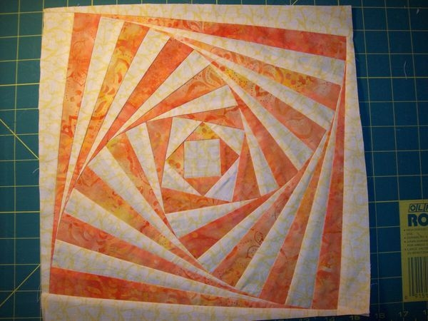 twisted log cabin block tutorial from quilting board Cozy Twisted Log Cabin Quilt Pattern Inspirations