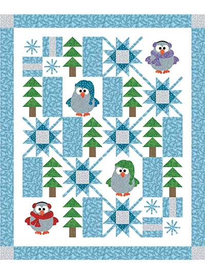 winter whoo quilt pattern Stylish Applique Patterns For Quilting