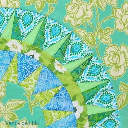 12 foundation pieced new york beauty quilt block 12 of 36 12 New York Beauty Quilt Block Patterns Inspirations