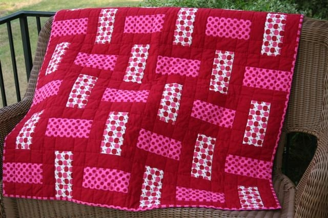 3 color quilt or you could just use 2 colors sew 3 wof Cozy Easy 3 Color Quilts Inspirations