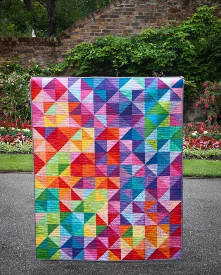 45 free easy quilt patterns perfect for beginners Unique Patchwork Quilt Patterns For Beginners Gallery