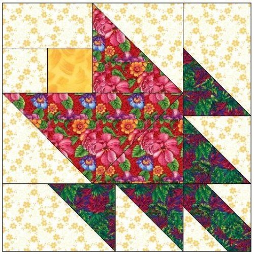 all stitches tulip paper piecing quilt block pattern pdf Make A Patchwork Tulip Quilt Block Patterns Gallery