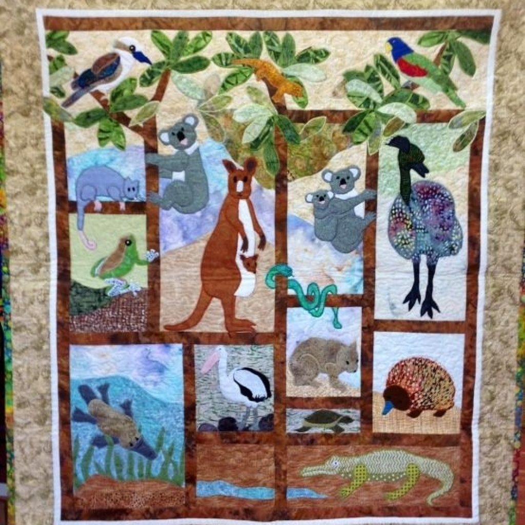 australian animals quilt animal quilts christmas quilts Cozy Australian Quilt Patterns Gallery
