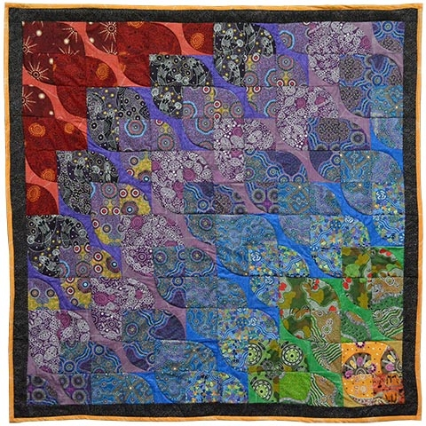 australian manufacturer of aboriginal fabrics pre cuts Cozy Australian Quilt Patterns Gallery