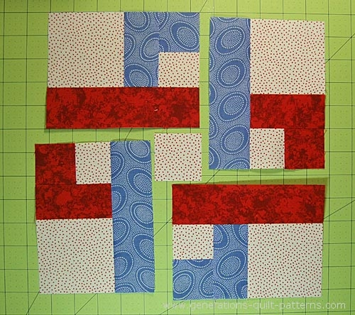 chain link quilt block pattern 7 10 12 and 14 Cool 10 Inch Quilt Block Patterns