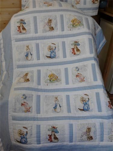 cozyquilts childrens quilts childrens quilts beatrix Cozy Peter Rabbit Quilt Pattern Inspirations