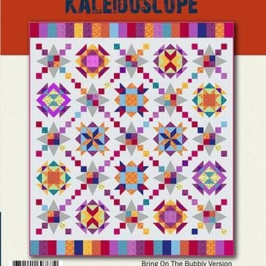 designer duo kaleidoscope pattern booklet kaleidoscope Unique Quilting Books Patterns And Notions Inspirations