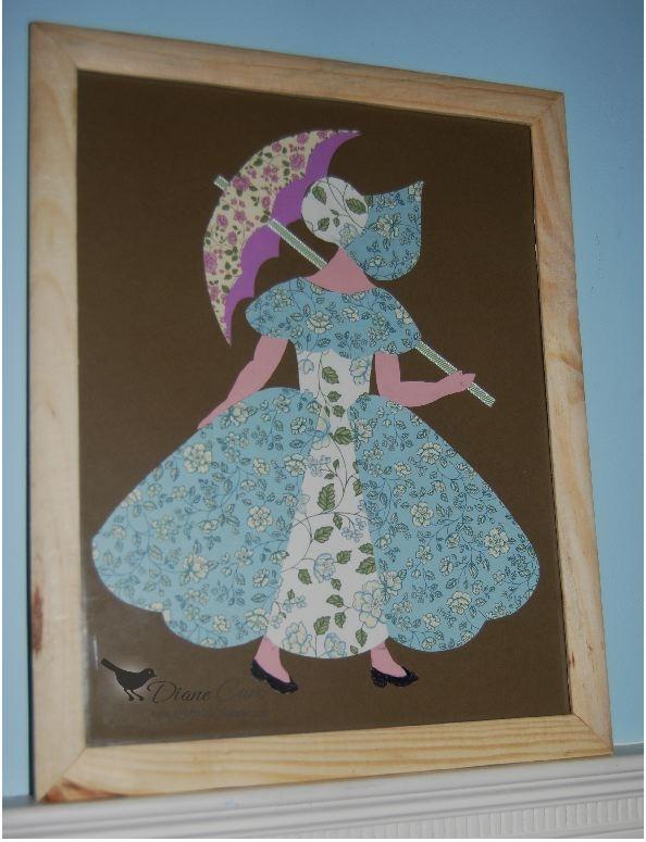 designer series paper umbrella girl lakesidestamper Elegant Umbrella Girl Quilt Pattern