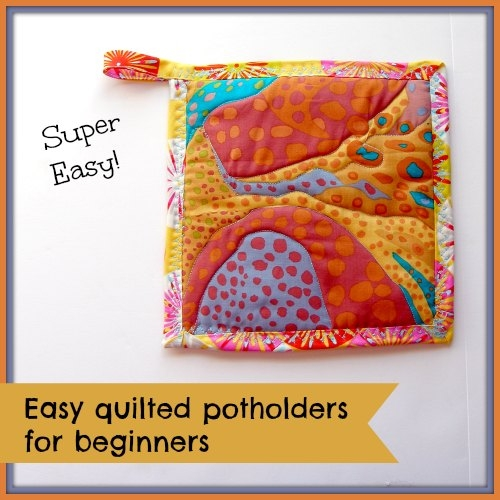 easy quilted potholders kitchen sewing series so sew easy Elegant Quilted Potholders Patterns Inspirations