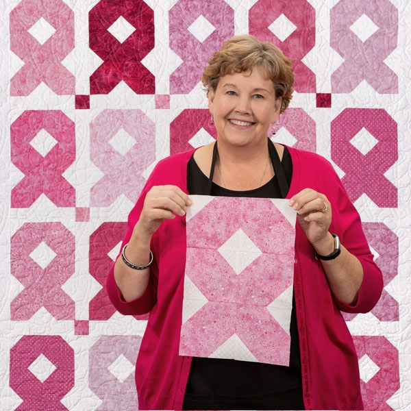 easy ribbon quilt missouri star blog Unique Pink Ribbon Quilt Pattern Gallery