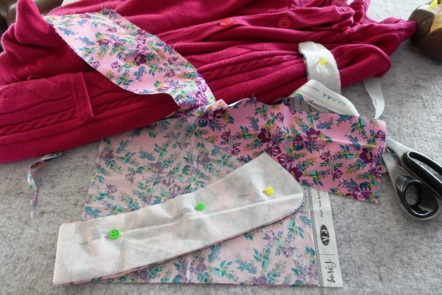 esthers design blog wow whipping up a winter collar Modern Heartfelt Quilting Sewing Winter Haven Gallery